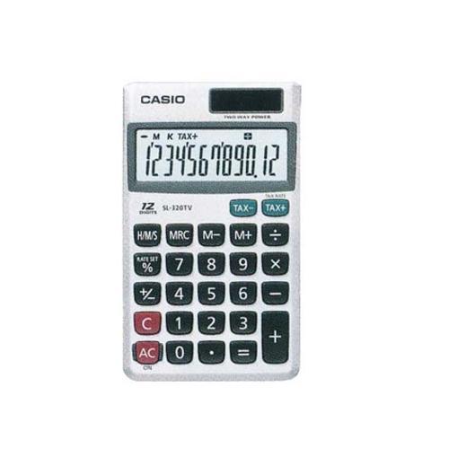 Calculadora de Bolso Prata Sl320tv Casio