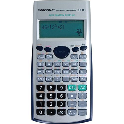 Calculadora Científica 403 Funções Sc991 Procalc