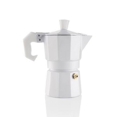 Cafeteira Italiana Brandani Aromatic Branco - 24140