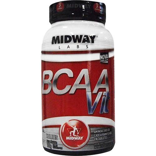 Midway Bcaa Vit - 100 Tabletes