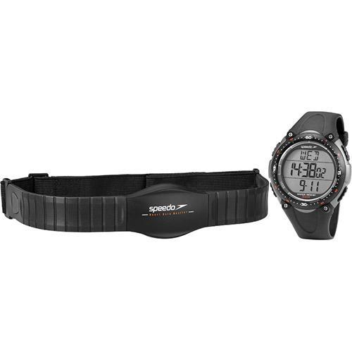 Monitor Cardíaco Relógio Com Cinta Preto Speedo - 80565g0