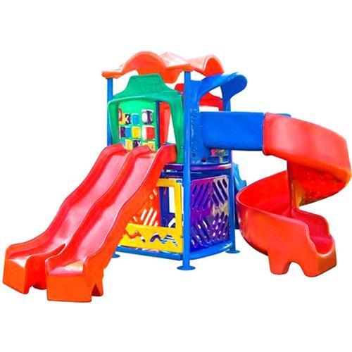 Playground Star Play Ii Com Escorregador Duplo Mundo Azul 50318