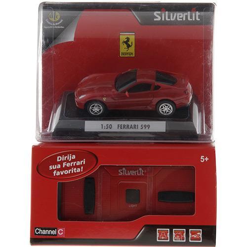 Carro de Controle Remoto Movido a Bateria Ferrari 599 Dtc