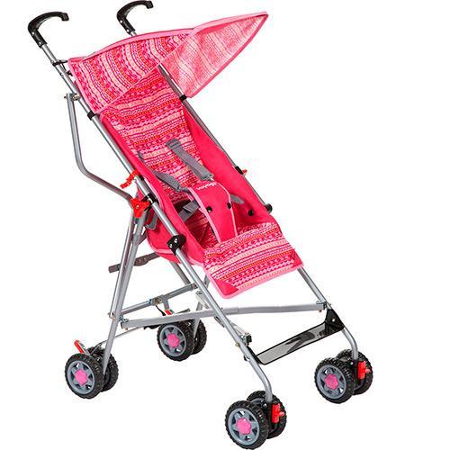 Carrinho de Bebe Voyage Umbrella Slim Rosa
