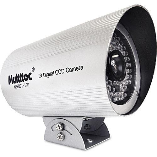 Câmera Multitoc Ccd Color Ir100 Resistente a Água - M990ei