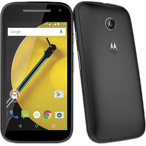 Celular Smartphone Motorola Moto e 2° Geração 4g Colors Xt1514 8gb Preto - Dual Chip