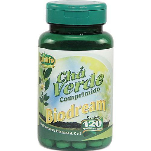 Unilife Biodream Chá Verde 120 Comprimidos