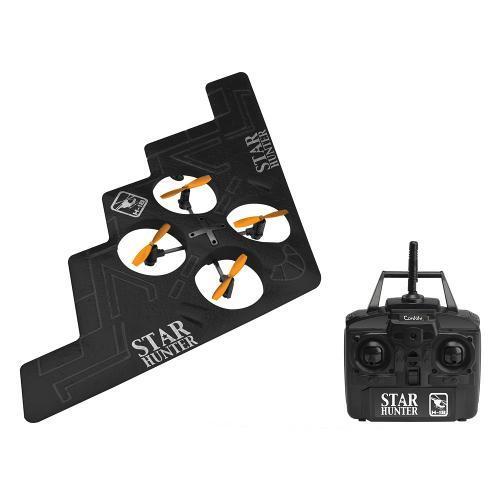 Drone de Controle Remoto Movido a Bateria Quadricóptero Star Hunter Candide