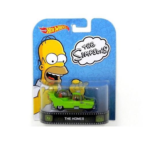 Carrinho Hot Wheels - Série Entretenimento - The Simpsons - The Homer Bdv00 Mattel