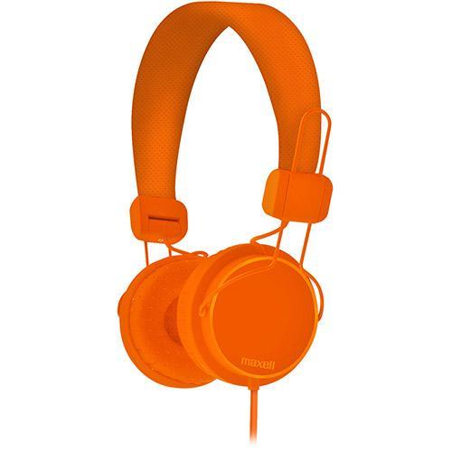 Fone de Ouvido Headphone Solids Supra Auricular Laranja Maxell