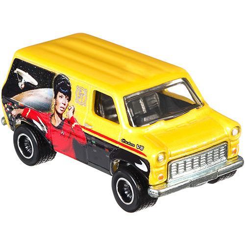 Carrinho Hot Wheels Cultura Pop 1:64 Star Trek Ford Transit Supervan Djg78/dlb45 Mattel
