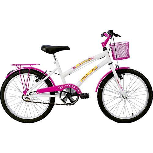 Bicicleta Verden Breeze 10019 Aro 20 Rígida 1 Marcha - Branco/rosa