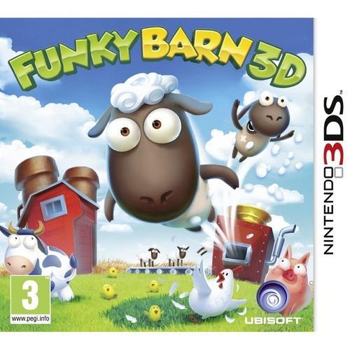 Jogo Funky Barn 3d - 3ds - Ubisoft