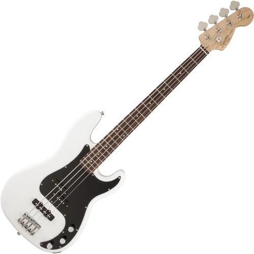 Baixo Elétrico Precision Jazz Bass Squier Affinity Squier Branco 4 Cordas