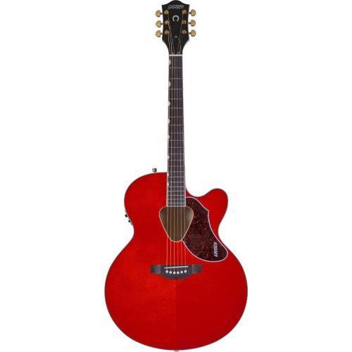 Violão Eletroacústico 6 Cordas Aço G5022ce Vermelho - Gretsch