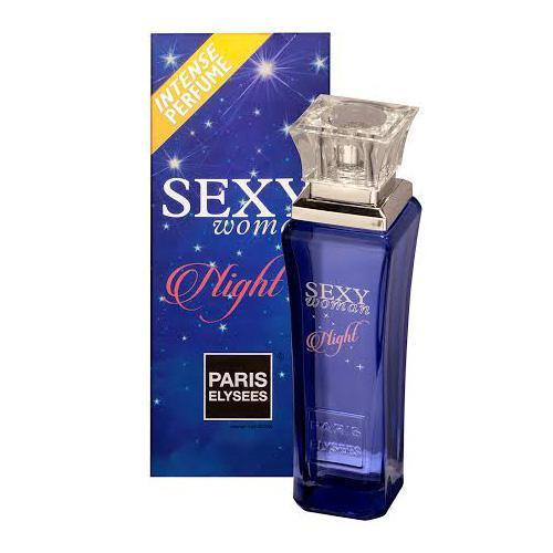 Perfume Sexy Woman Night Paris Elysees Eau de Toilette Feminino 100 Ml