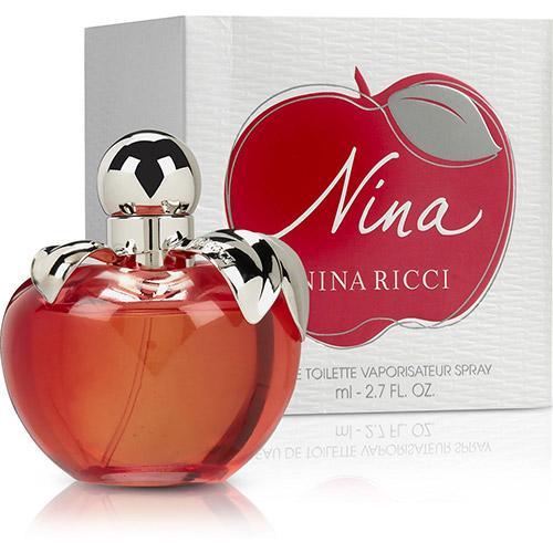Perfume Nina Nina Ricci Eau de Toilette Feminino 80 Ml
