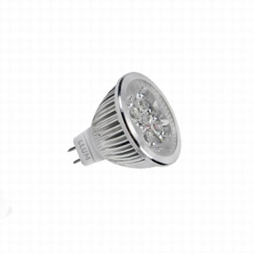 Lâmpada Llum Power Led Dicróica 4w 3000k 12v - Pwd44d3c2