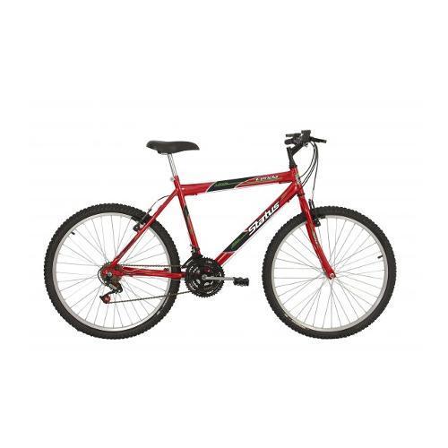 Bicicleta Status Bike Lenda Aro 26 Rígida 18 Marchas - Vermelho
