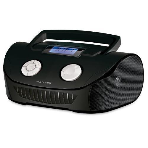 Rádio Portátil Com Usb Multilaser Boombox 15 W Rms - Pb817