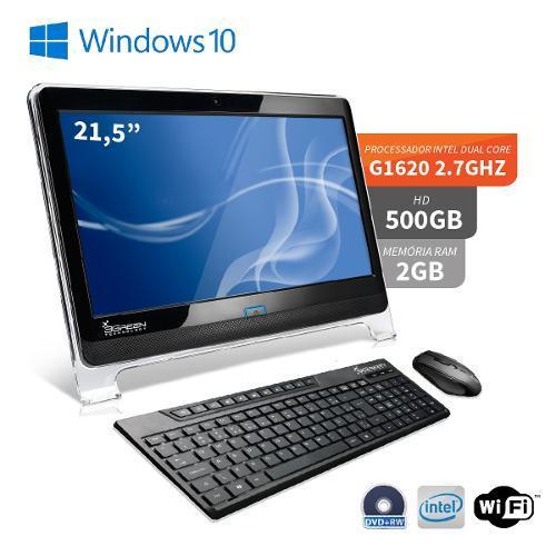 All In One 3green P3144 Celeron G1620 2.70ghz 2gb 500gb Intel Hd Graphics Windows 10 21,5'