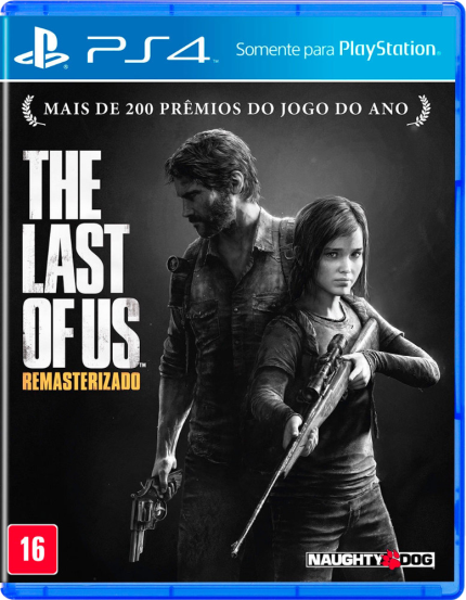 Jogo The Last Of Us Remasterizado - Playstation 4 - Square Enix